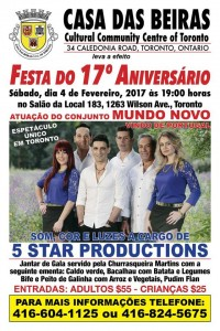 Beiras Anniversary Poster