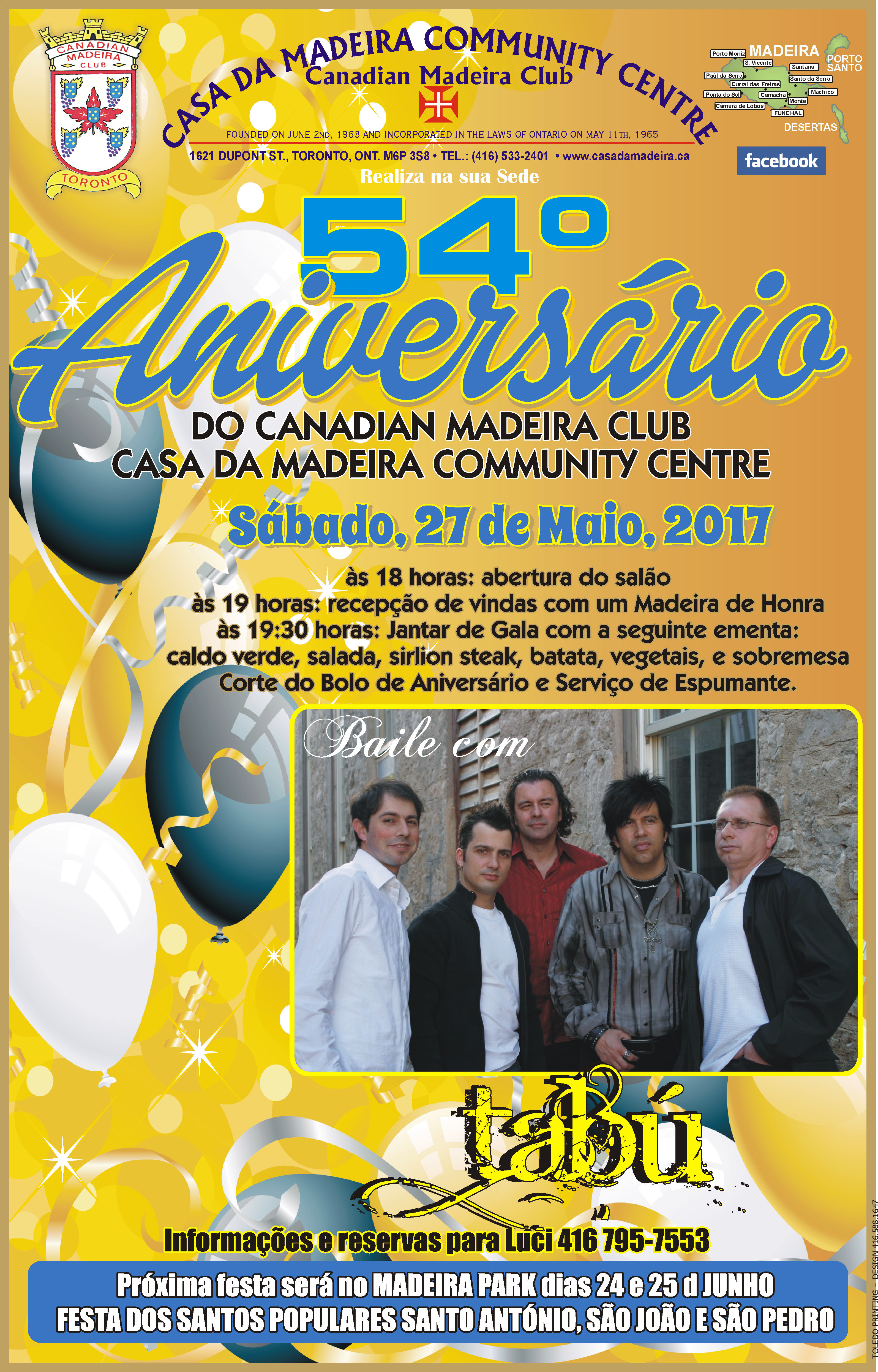 Casa da Madeira Anniversary poster