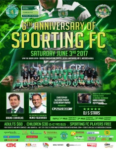 Sporting FC Anniversary poster
