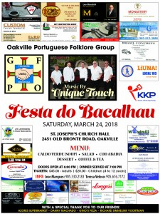 Festa do Bacalhau poster