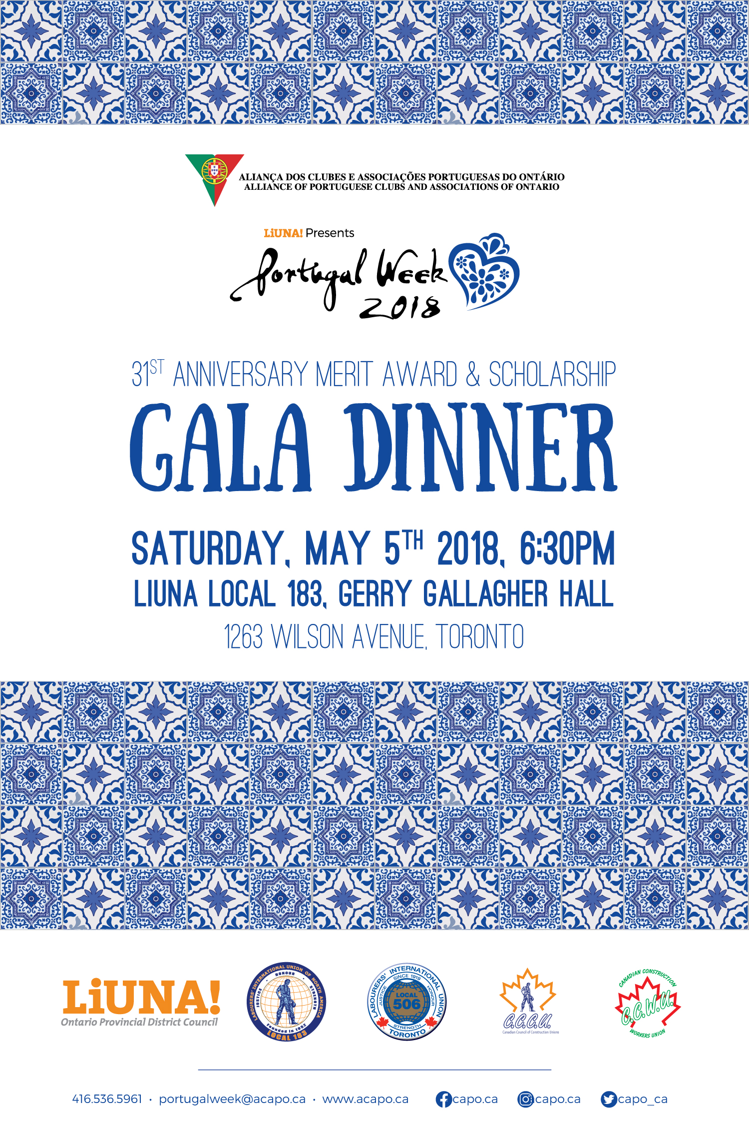 PW2018 gala poster