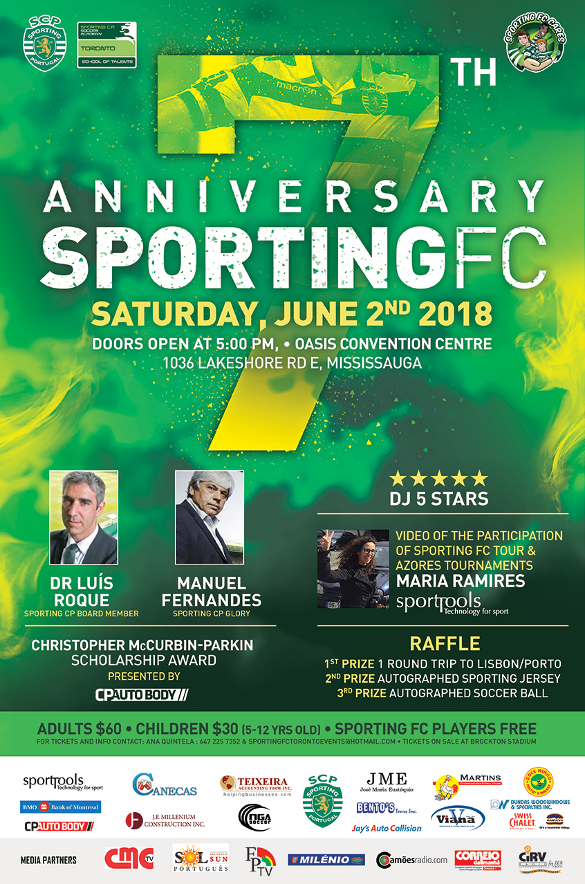 Sporting FC 7th Anniversary Poster