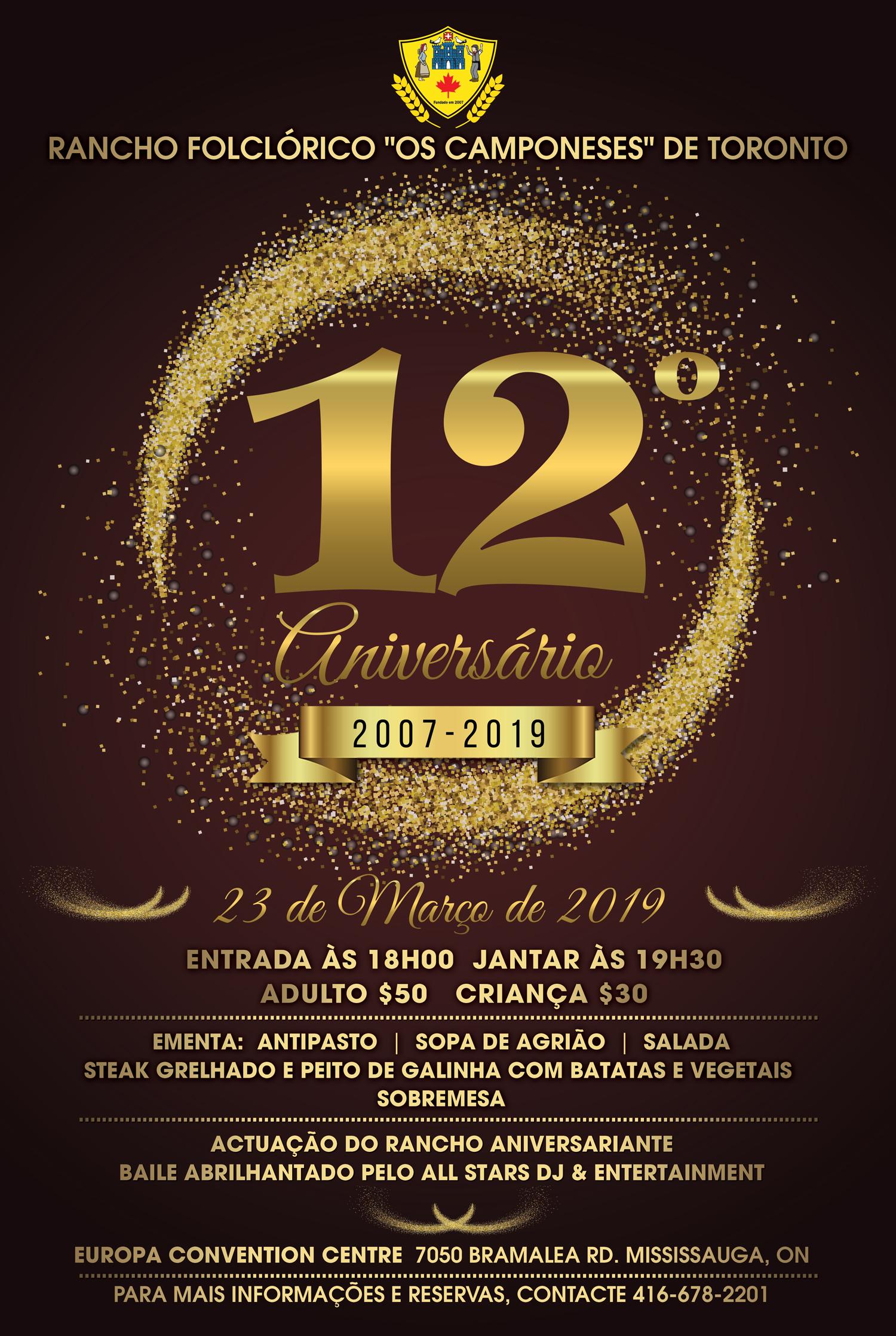 Os Camponeses 12º aniversário