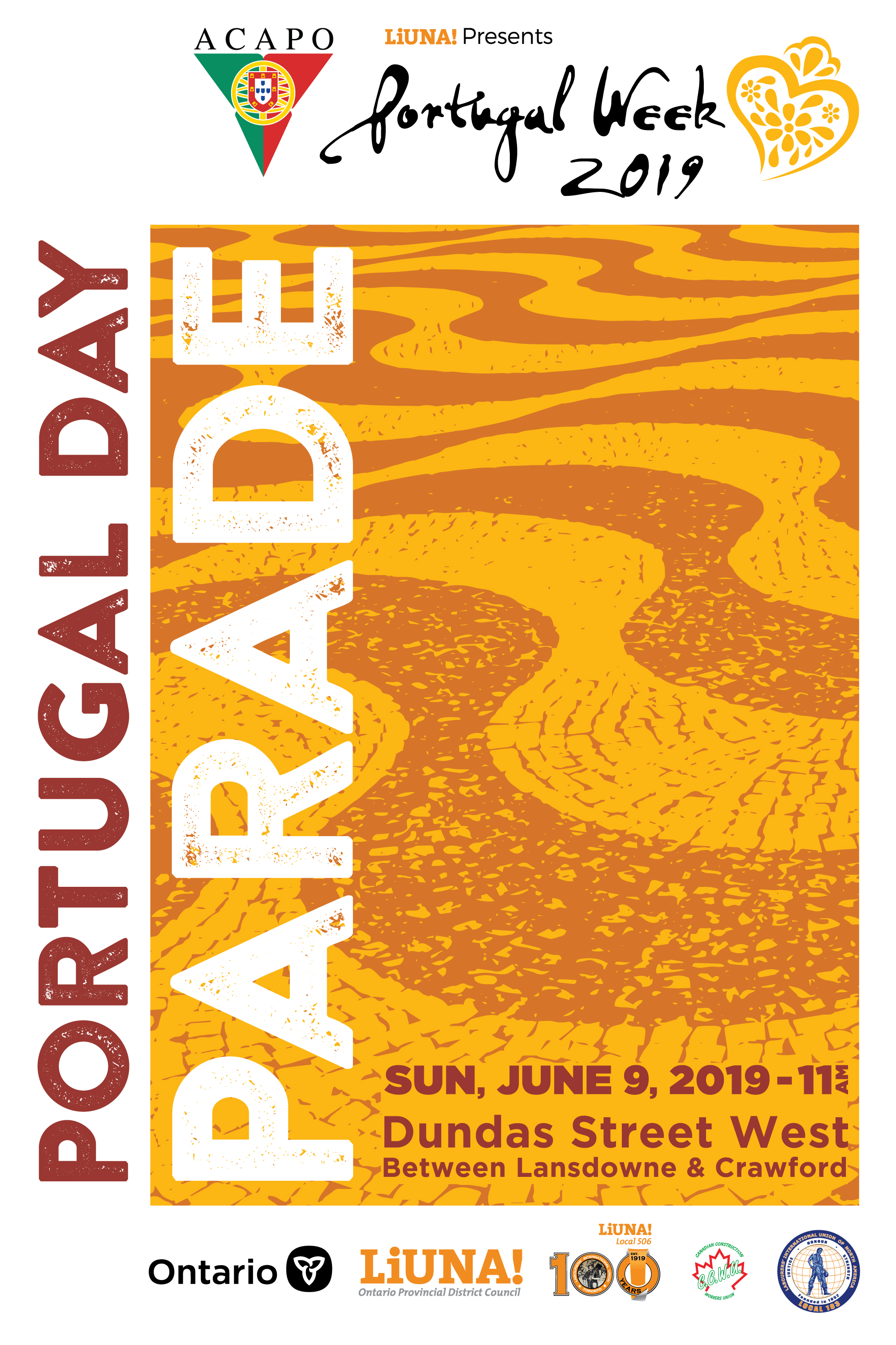 Portugal Day Parade Poster