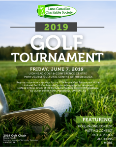 Luso Canadian Charitable Society Golf Tournament